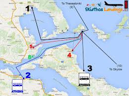 volos map transportation skiathos landings