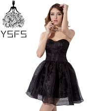 where to buy graduation dresses click to buy ysfs simple sweetheart organza black graduation