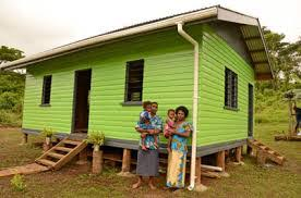 aptc and fiji program to build low cost houses