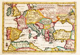 Map Of The Mediterranean Antiquemaps Fair Map View Aa V D Antique Map Mediterranean
