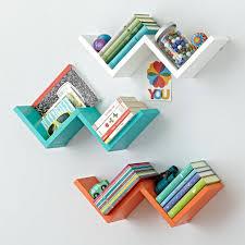 zigzag wall shelf the land of nod