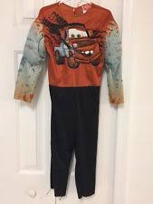 Mater Halloween Costume Disney Cars Talking Tow Mater Costume Size 6 4 6 Small Childs Ebay