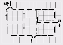 evacuation floor plan template emergency action plan evacuation elements osha s floorplan
