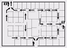 fire exit floor plan template emergency action plan evacuation elements osha s floorplan