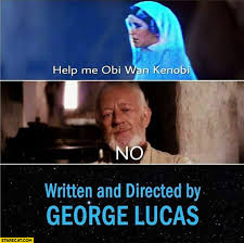 Obi Wan Kenobi Meme - help me obi wan kenobi no the end star wars written and directed
