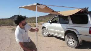 Awning Roof Mount Brackets Camping Essentials Arb Awning Youtube