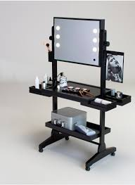 professional makeup lights professional makeup table with lights l400 wheeled lighted
