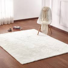Sheepskin Area Rugs Rug Factory Plus Faux Sheepskin Area Rug White Warm Fuzzies Place
