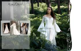 Unique Wedding Dresses Uk Medieval U0026 Fairy Wedding Dresses Celtic Elvish Gothic