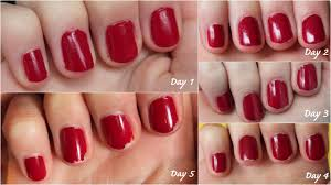 review bourjois paris 10 days no chips nail polishes make up