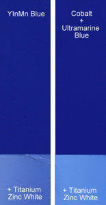 new blue color in oil paint yinmn blue gamblin artists colors