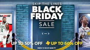 black friday playstation store sale launches today