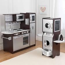 kidkraft modern espresso kitchen gorgeous 90 kidkraft kitchen espresso decorating design of