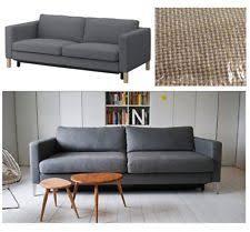 Ikea Karlstad Loveseat Cover Textured Furniture Slipcovers Ebay