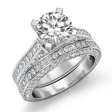 bridal set wedding rings rings 2016 platinum bridal sets wedding rings