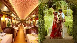 maharajas express train coach booking for marriage itinerary