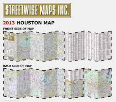 Map Of Houston Texas Streetwise Houston Map Laminated City Center Street Map Of