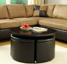 Coffee Table With Stools Underneath Living Room Wonderful Coffee Tables Breathtaking Round Table With
