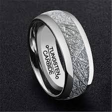by johan jewelry mens meteorite wedding ring types by johan