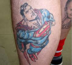 16 super hero tattoo designs