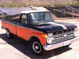 1966 ford f250 truck 390 big block harley davidson paint color