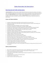 Resume Examples For Sales Associates by 5 Retail Sales Associate Job Description For Resume Job Duties
