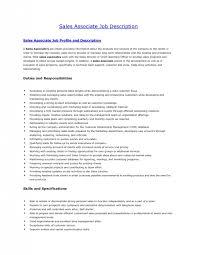 resume for retail sales associate 5 retail sales associate job description for resume job duties