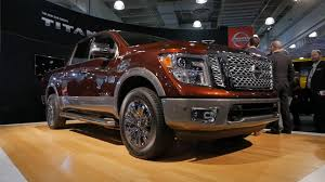 nissan titan 2018 2017 nissan titan targets the heart of the half ton truck market