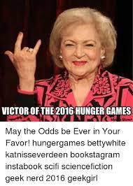 Hunger Games Meme - 25 best memes about hunger games meme may the odds hunger
