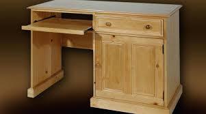bureau ordinateur bois bureau informatique bois massif bureau pour ordinateur en pin massif