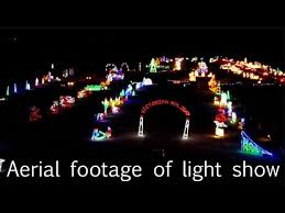 Smith Point Light Show From The Sky Youtube