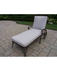 Chaise Lounge With Wheels Outdoor Slash Prices On Oakland Living Corporation Dakota Cushioned Cast