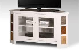 Oak Tv Cabinets With Glass Doors 20 Best Collection Of Corner Tv Cabinets With Glass Doors