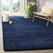 Navy Area Rug Safavieh Milan Shag Collection Sg180 7070 Navy Area