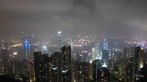 hong kong city nights hd wallpapers skyscrapers hong kong foggy city fog lights night dark mist