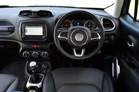 jeep renegade grey interior jeep renegade vs nissan qashqai vs mazda cx 5 road test pictures