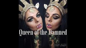 queen of the damned vampire make up tutorial youtube