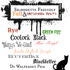friendly halloween background silhouette friendly u0026 mostly free fall fonts and halloween