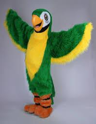 halloween costume rental online mascot idea of imagine kids green parrot 982 mascot pinterest