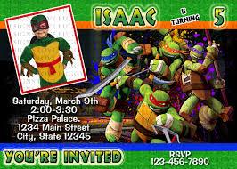 free printable ninja turtle birthday invitations u2013 gangcraft net