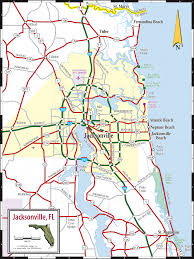 Florida Map Beaches by Map Of Jacksonville World Map Photos And Images