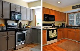 Easiest Way To Refinish Kitchen Cabinets Kitchen Staining Cabinets Darker Honey Oak Cabinets Repainting