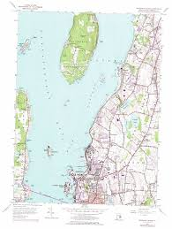 Honeyman State Park Map by Prudence Island Topographic Map Ri Usgs Topo Quad 41071e3