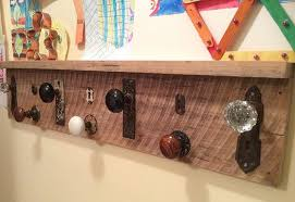 decorative coat rack from found objects hometalk