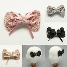 barrettes hair annielov 4 color luxury ribbon lace hair clip barrettes hair