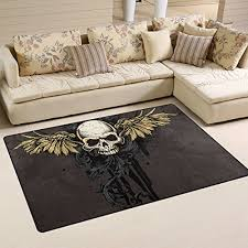 Skull Area Rug Rug Underpad Buyitmarketplace Ca