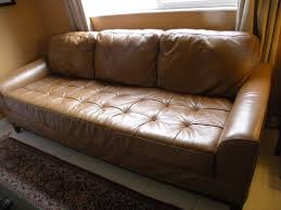 Leather Sofa Conditioner Simmons Furniture Bought Three Years Ago Clubhusband Bonded