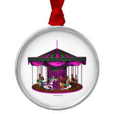 carousel ornaments keepsake ornaments zazzle