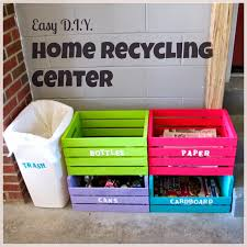 Live In Garage Plans Laura U0027s Plans Easy D I Y Home Recycling Center