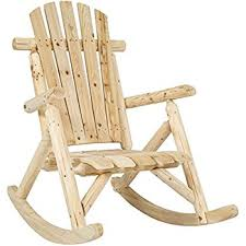 Chair Rocking By Itself Amazon Com Lakeland Mills Cedar Log Rocking Chair Natural